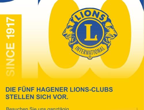 100 Jahre Lions – die fünf Hagener Lions-Clubs stellen sich vor.